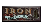 Iron Press Fold Laundry Wall Art