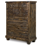 Brenley Wood 5 Drawer Chest
