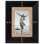 Nailhead Burlap Frame Available in 2 Sizes
