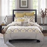 Yellow Sierra 3 Piece Comforter Mini Set