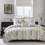 Yellow Santa Fe 3 Piece Comforter Mini Set