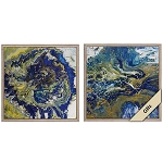 Abstract Tropical Storm Set of 2