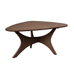 Blaze Triangle Wood Coffee table