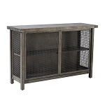 Cody Storage Sideboard Console - Grey