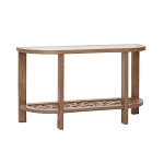 Crackle Console Table