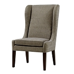 Harlow Captains Dining Chair - Grey