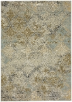 Moy Willow Gray Smartstrand Silk 8' x 11' Area Rug