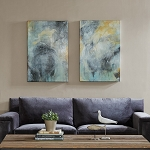 Tranquility Gel Coat Canvas 2 PC Set