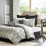 Paxton 12 Piece Jacquard Comforter Bedding Set