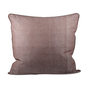 "Earth Chambray Pillow 24"" x 24"""